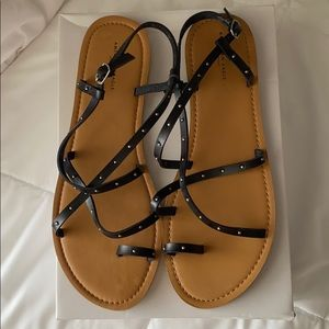 NWOT American Eagle Strappy Studded Sandals
